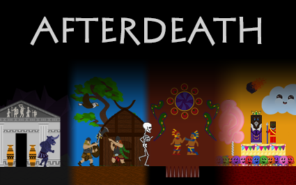 the four worlds of Afterdeath